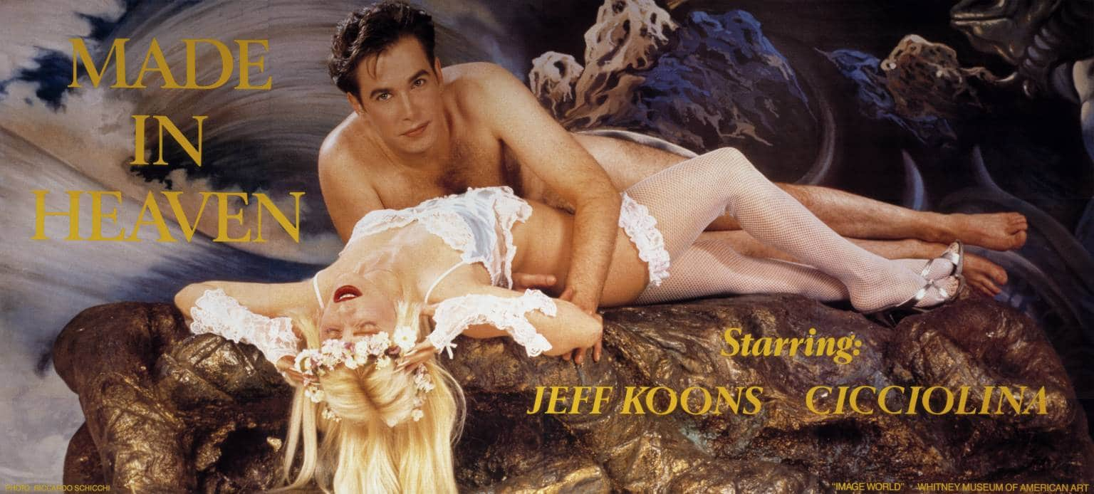 """Cicciolina und Jeff Koons in """"Made in Heaven"""""""